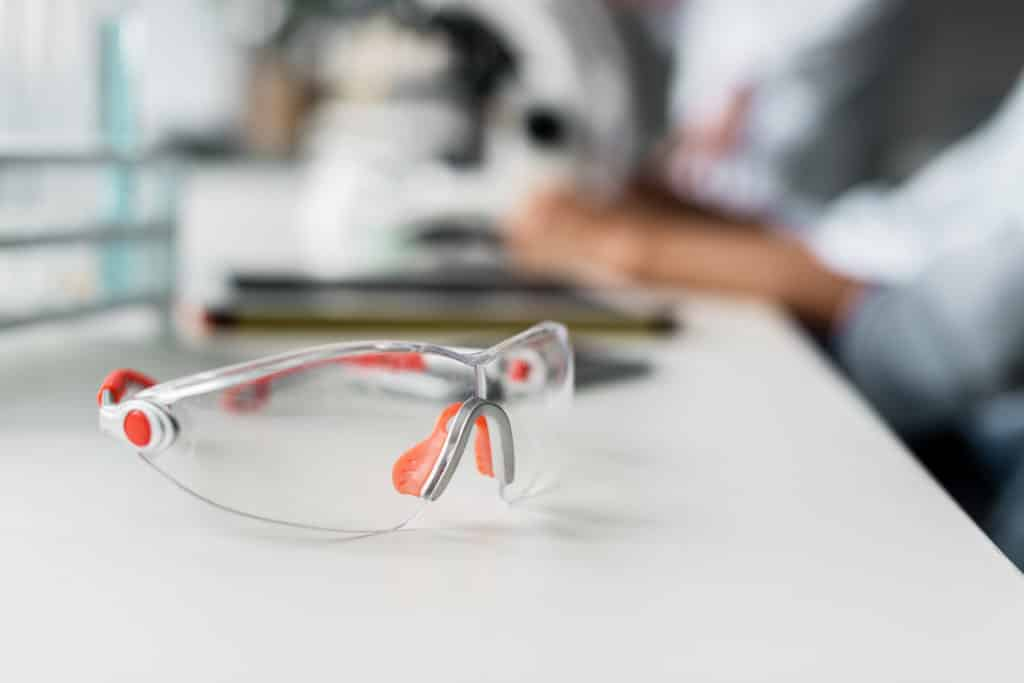 Arbeitsschutz Augenschutz