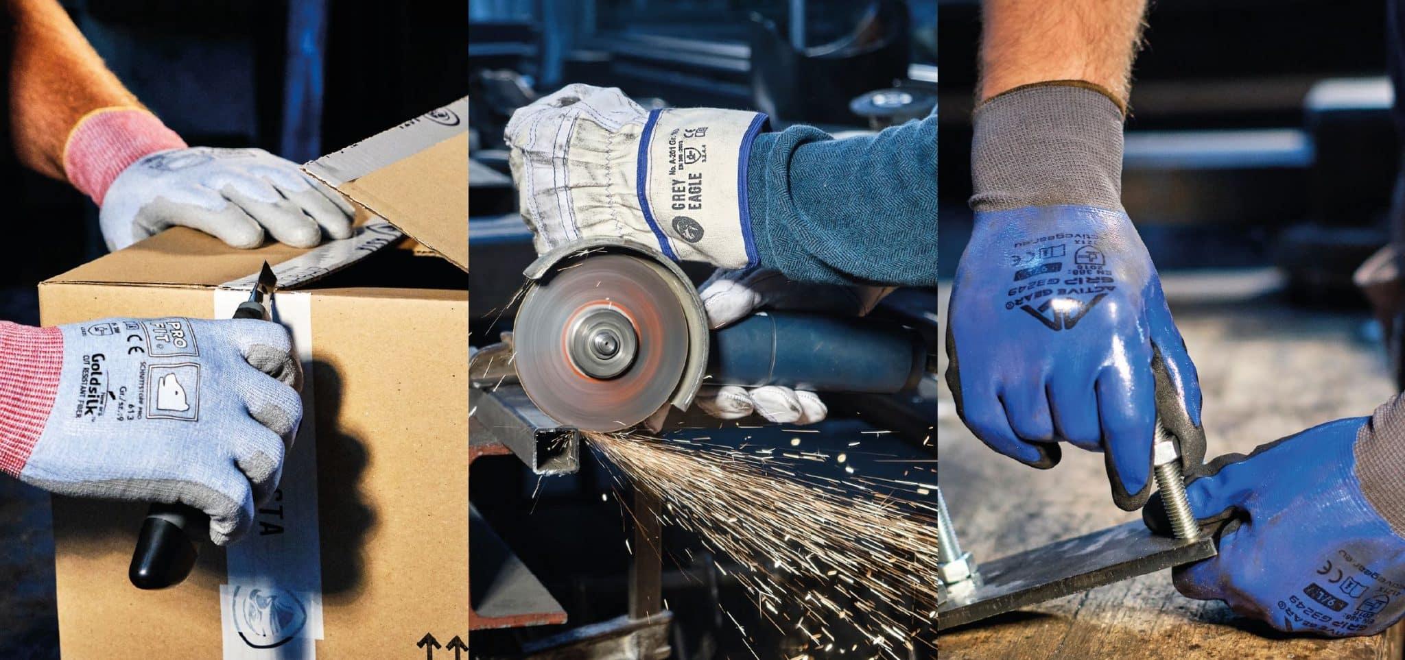 Header-Handschuh-Aktion