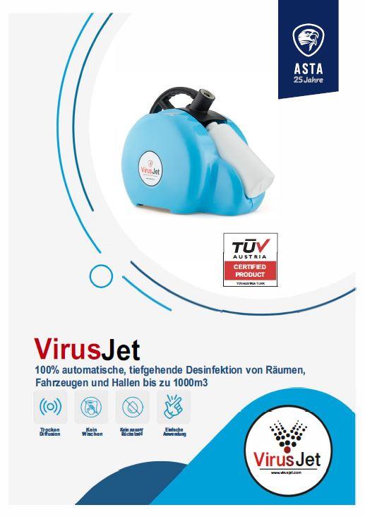 Virusjet Flyer